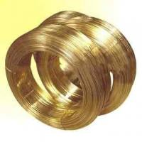Buy cheap brass edm wire Φ0.3mm~0.1mm     yellow   Cuzn35, Cuzn37, H62 from wholesalers