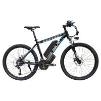 Buy cheap Black 26 Inch Electric Bicycle , Pedal Assist Electric Bike Max Speed 35 KM/H from wholesalers