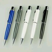 Buy cheap 1GB , 2GB Personalized Pen USB Flash Drive With Laser Engraved Logo from wholesalers