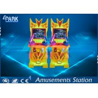 100W Coin Operated  Light Gun Arcade Cabinet Double Players 620 * 620 * 1250 MM Manufactures