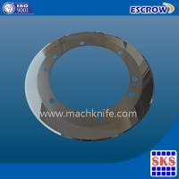 Buy cheap HSS Inlay thin edge slitting blade from wholesalers
