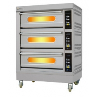 Buy cheap 1680mm Height 185KG 400 Celsius Catering Electric Oven from wholesalers