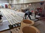 Buy cheap 20 Meter Sugar Mill Asbestos Free Woven Brake Lining Roll from wholesalers