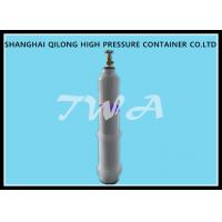 Welding Empty Medical Steel Gas Cylinder / Oxygen Tank Portable Manufactures