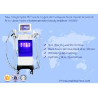 Buy cheap Hydra PDT Ultrasonic Scrubber RF Beauty Machine Water Oxygen Dermabrasion Facial Cleaner from wholesalers