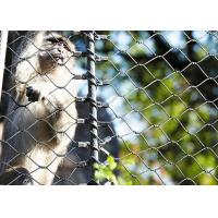 Buy cheap 316 Stainless Steel animal enclosure mesh For Monkey product