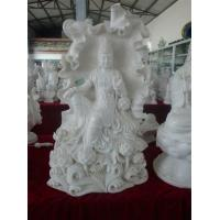 Wholesale Stone, marble Bodhisattva of Mercy statue from china suppliers