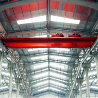 Buy cheap 16t + 16t Double Trolley Overhead Crane , Qe Type Magnetic Overhead Crane from wholesalers