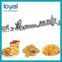 Buy cheap Automatic Extruded Fried Snack Food wheat Flour Bugles Chips Making Machine Production Line from wholesalers