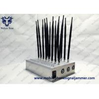 Buy cheap Multi-Band All Frequency 2G 3G 4G LTE 4G Wimax Phone Blocker WiFi GPS VHF UHF  Signal Jammer from wholesalers