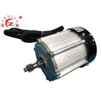 Buy cheap Permanent Magnet Synchronous Electric Motor , 1.8KW 60V Geared Electric Motors from wholesalers