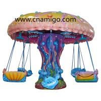 Buy cheap Customized Flying Chair Ride , Flying Swings Ride Comfortable Seats Easy Install from wholesalers