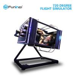 Buy cheap 720 Degree Online Flight Simulator , Large Oculus Rift Flight Simulator from wholesalers