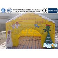 China Inflatable Outdoor Tent with Professional Printing Christmas Tent Loved by Children on sale