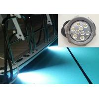 RGB IP68 LED Boat light 316 Stainless Steel RF Control LED Drain Light Manufactures