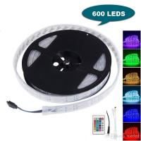 Buy cheap 16FT 5M Double Row SMD 5050 Silicone Tube RGB LED Strip Light 600 LEDs Flexible Waterproof Color Changing Light Strip wi from wholesalers