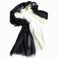 Buy cheap 100% Cashmere Scarf with Special Dyeing, Available in Various Colors and Designs from wholesalers
