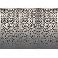 Buy cheap Salt Spray Resistance Stamped Metal Panels , Exquisite Decorative Sheet Metal Panels from wholesalers