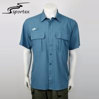 Buy cheap Sun Protection Quick Dry Fishing Shirt Customized Color Appearance Sweat Absorbent from wholesalers