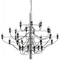 Buy cheap Brushed Art Deco Style Chandelier , Gino Sarfatti Flos Art Deco Kitchen Lighting from wholesalers