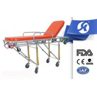 Buy cheap Hospital Ambulance Patient Stretcher Trolley , Hospital Emergency Trolley from wholesalers