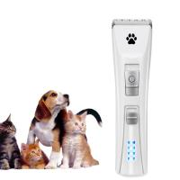 Buy cheap White Color Pet Grooming Hair Clippers , Electric Pet Hair Trimmer Two Speed Design from wholesalers