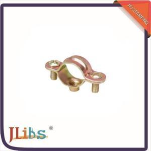 Qucik Stamping Fastener Galvanized Pipe Bracket Clamp Carben Steel Material