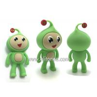 Buy cheap Environmental Silicone mini cute 3d dolls custom home decoration silicone animal figures custom from wholesalers