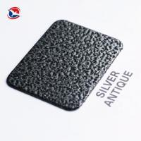 Buy cheap Thermosetting Electrostatic Spray Crackle Epoxy Polyester Powder Coating Metallic Effect from wholesalers