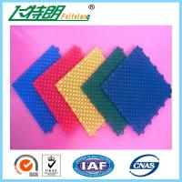 Wholesale Basketball Court Rubber Interlocking Flooring 2500N 250x250x13 MM 350g / pc from china suppliers