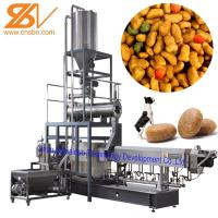 Buy cheap 100kg/H-6t/H Dry Kibble Dog Food Manufacturing Machine Extruder Production Line from wholesalers