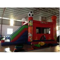 Buy cheap New inflatable football bouncer house inflatable baseball jump house soccer bouncer with slide on sale from wholesalers