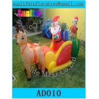 Buy cheap Inflatable Christmas Decorations , Airblown Inflatable Christmas Tree For Kids from wholesalers