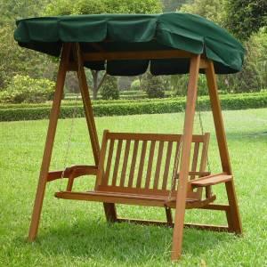 2seat promotion garden swing
