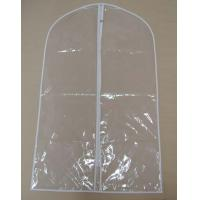 Buy cheap 70D 1.0 Thickness PVC breathable Garment Cover Bag For travel 2 Handle from wholesalers