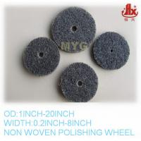 Wholesale non woven abrasive polishing wheel from china suppliers