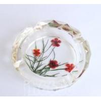 Buy cheap crystal flower pressed ashtrays,home decor, decoration,furnishings,home accessories from wholesalers