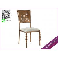 Buy cheap Furniture Manufacturer Wedding Chairs Rose Gold Color (YS-92) product