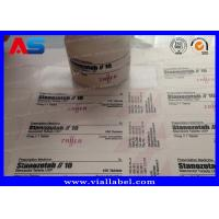 Buy cheap Plastic Prescription Pill Bottle Label For 30ml Jars ISO SGS ROHS from wholesalers
