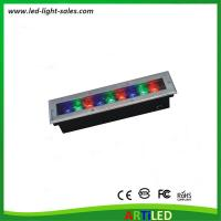 Buy cheap IP65 corrosion proof pavement RGB LED ground lights for outdoor decorate projects from wholesalers