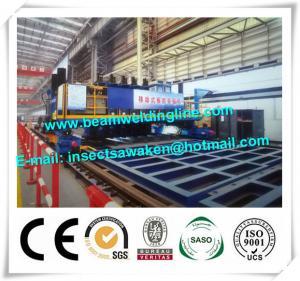 Hydraulic Longitudinal T Beam Welding Machine With Gantry Framework Manufactures