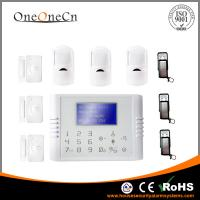 Buy cheap Auto Dial GSM / PSTN  Dual Network Home Security System 30 Wireless Zones from wholesalers