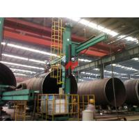2500mm - 5000mm Dia Wind Tower Production Line 60T For Power Station Construction Manufactures