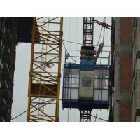 Buy cheap 650*650*1508 mm Construction elevator / hoist / lifter speed in 0 - 90 m/s from wholesalers