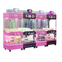 Buy cheap Indoor Arcade Claw Machine , Pp Tiger 4 Standing Indoor Push Prize Toy Crane Doll Catcher Machine from wholesalers