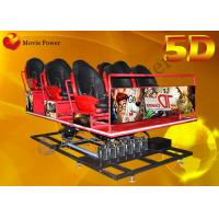 Buy cheap Popular Electric 5D Movie Theater 5D Driving Simulator 2-100 Seats from wholesalers
