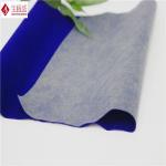 Buy cheap Nylon Jewellry Box Lining Flocking Fabric , Blue Velvet Upholstery Fabric from wholesalers