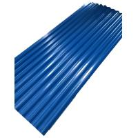 Buy cheap 20 Gauge Color Corrugated Steel Sheet , Corrugated Galvanized Roofing Long Lifetime from wholesalers