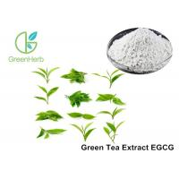 Buy cheap EGCG Green Tea Extract Anti - Tumor Effect For Pharmaceutical Industries from wholesalers