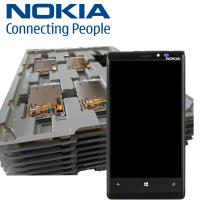 Wholesale NOKIA LUMIA 920 Lcd and Digitizer Touch Screen with frame - Master Trays - Brand New from china suppliers